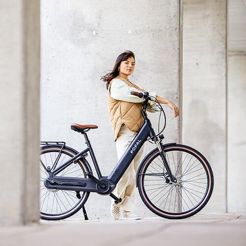 Hippe elektrische fietsen