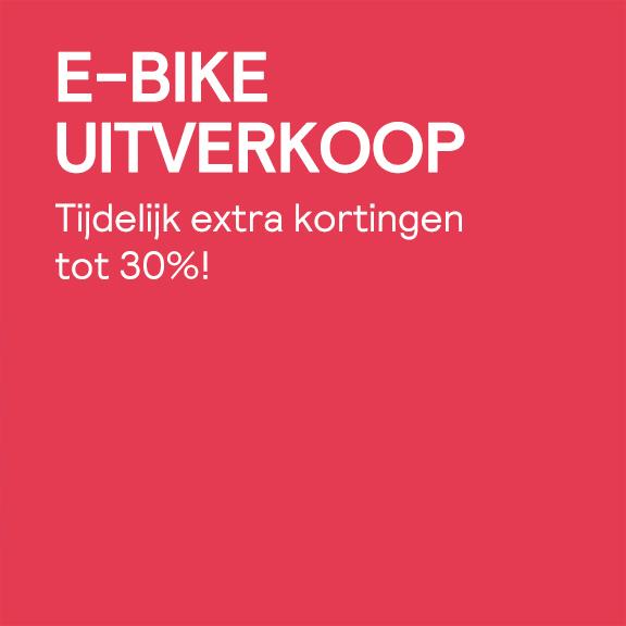 E-bike uitverkoop