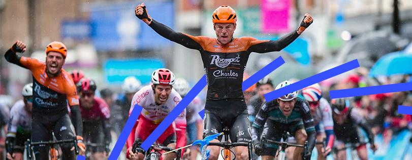 Roompot-Charles renner Asselman wint eerste etappe Ronde van Yorkshire