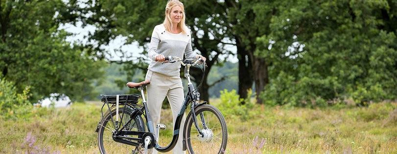 Bewegen zonder pijn op de e-bike