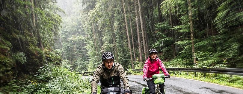Fietsen in de regen met je elektrische fiets