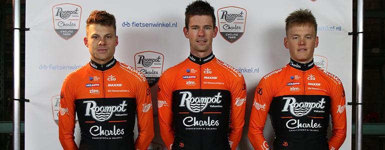 Fietsenwinkel.nl sponsort Roompot - Charles Cycling Team