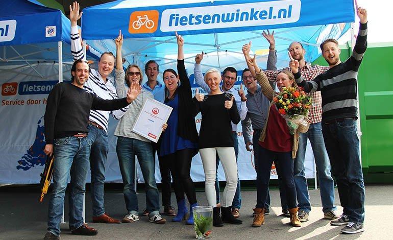 Fietsenwinkel.nl weer verkozen tot beste webshop
