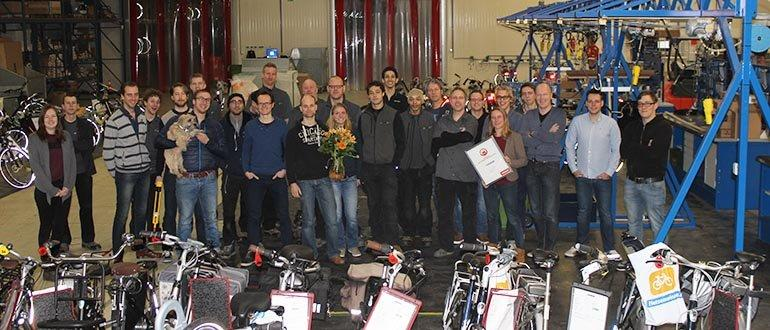 Fietsenwinkel.nl verkozen tot beste webshop