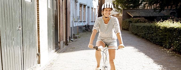 Bewezen: fietsen maakt gelukkiger