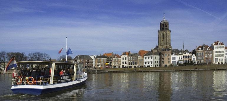 Pontjesroute over de IJssel