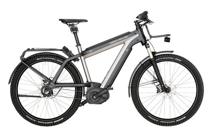 Riese & Müller Supercharger GX Rohloff HS 500Wh 2020 Heren 45km