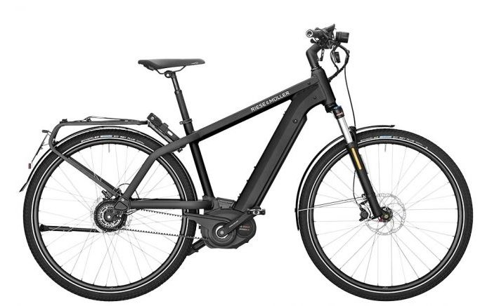 Riese & Müller Charger Vario HS Kiox 1000Wh 2020 Heren 45km
