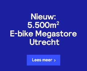 Nieuw: 5.500m2 E-bike Megastore Utrecht