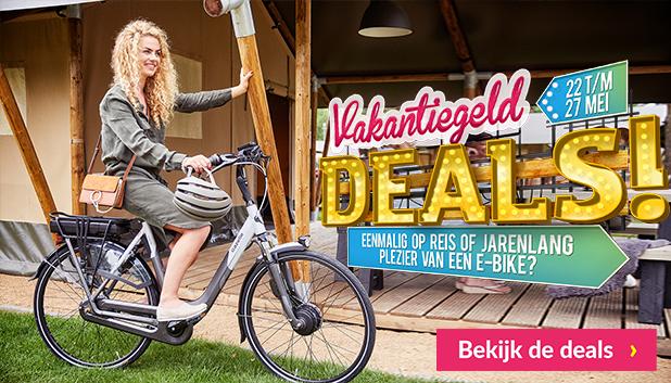 Vakantiegeld deals bij Fietsenwinkel.nl!