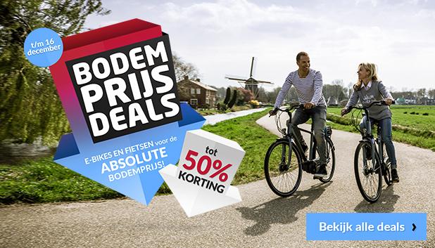 Bodemprijs Deals Week bij Fietsenwinkel.nl!
