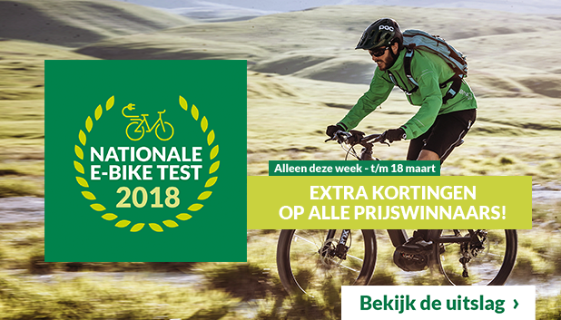 De uitslag van de Nationale E-bike Test 2018