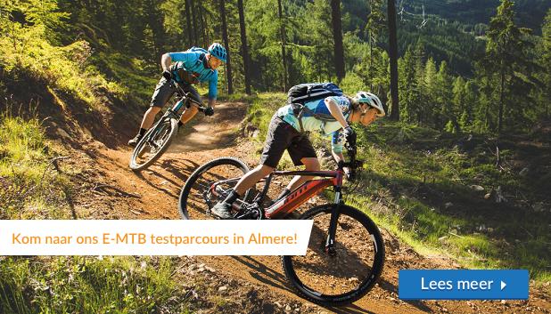 Kom elektrische mountainbikes testen op ons nieuwe e-MTB Testparcours in Almere!