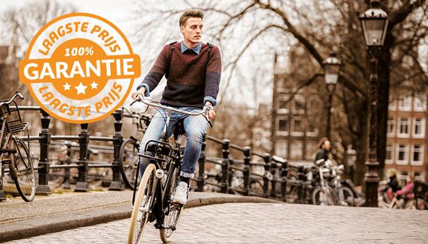 De laagste prijsgarantie op alle fietsen