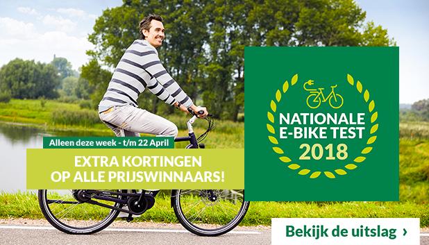 Nationale E-bike Test Deals bij Fietsenwinkel.nl!