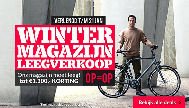 Winter Magazijn Leegverkoop bij Fietsenwinkel.nl!