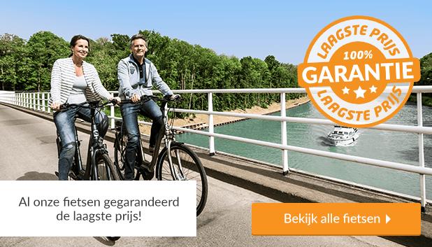 Al onze fietsen gegarandeerd het meest voordelig met onze Laagste Prijsgarantie!