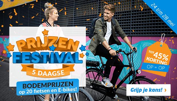 Prijzenfestival 5-daagse: absolute bodemprijzen op 20 fietsen!