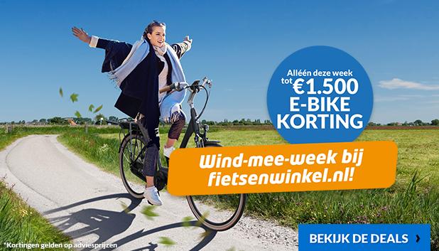 Wind-mee-week bij Fietsenwinkel.nl!