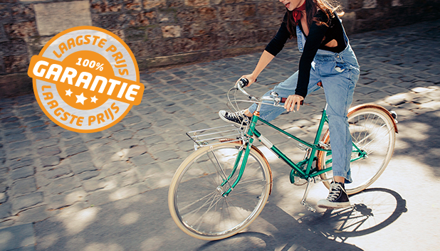 De laagste prijsgarantie op hybride fietsen!