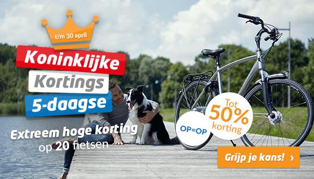 Koninklijke Kortings 5-daagse: profiteer tot en met 30 april van extreem hoge kortingen!