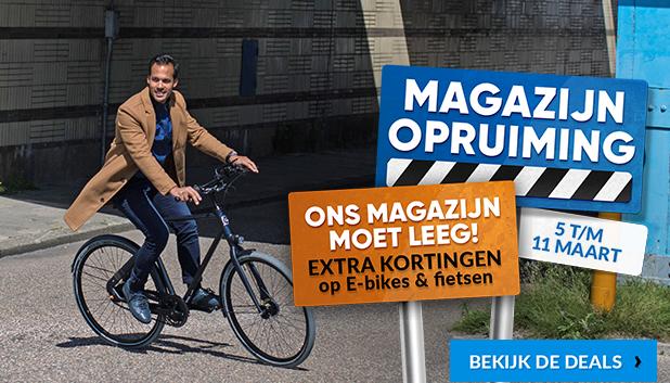 Magazijn Opruiming bij Fietsenwinkel.nl!