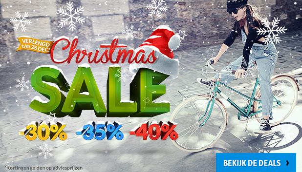 Christmas Sale bij Fietsenwinkel.nl!