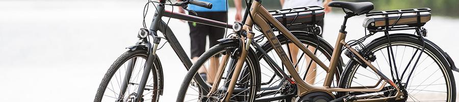 Bruine fiets