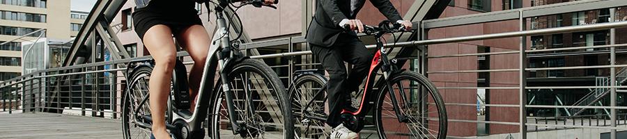 Elektrische fietsen met lage instap