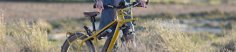 Gele fiets