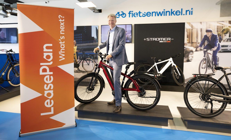 Aankondiging International Bike Group (IBG), moederbedrijf van fietsenwinkel.nl (Benelux) en Hellorider over samenwerking LeasePlan Nederland