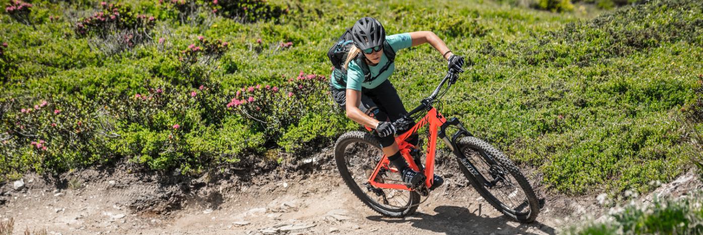 Header De mountainbike: niet alleen voor mannen!