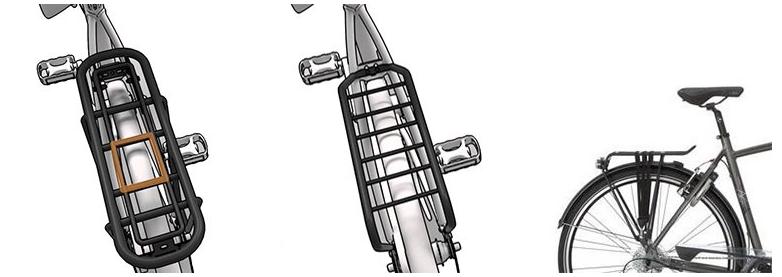 Afbeelding soorten bagagedragers