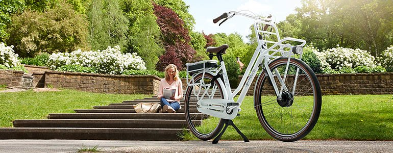E-bike met middenmotor