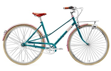 Creme Caferacer Retro fiets