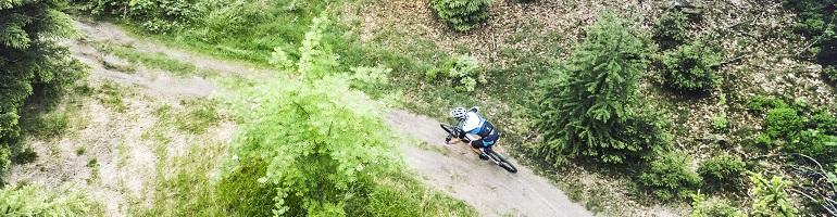 Sfeerfoto Cube mountainbikes