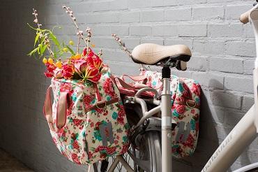 Dubbele fietstassen