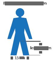 binnenbeen lengte bepalen
