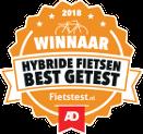 Winnaar AD Fietstest 2018