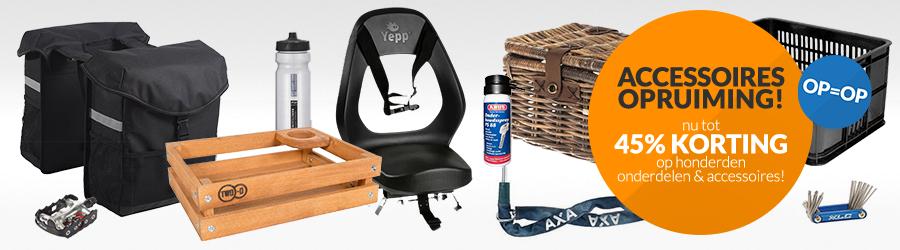 Accessoires Opruiming! – Wij ruimen ons Onderdelen & Accessoires magazijn op. Nu tot 45% korting op honderden onderdelen & accessoires!