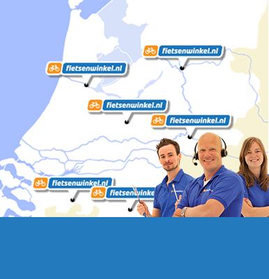 Fietsenwinkel.nl afhaalpunten