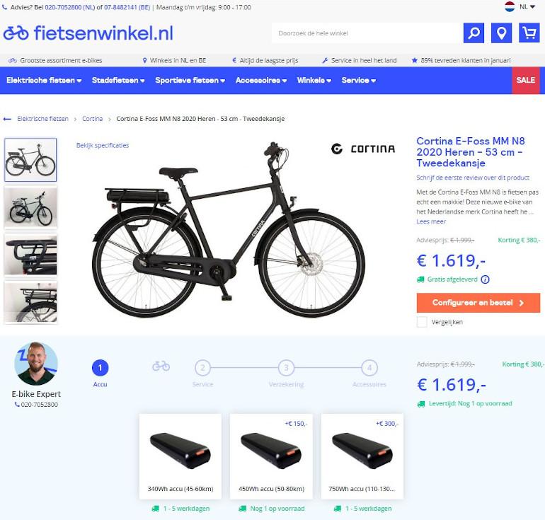 Koop een tweedekansje bij Fietsenwinkel.nl