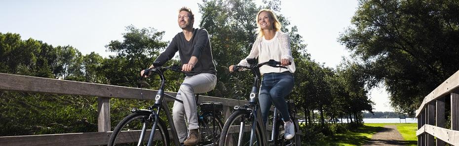E-bikes voor Zondagsfietsers