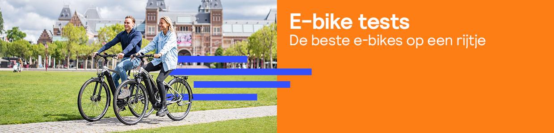 E-bike tests: De beste elektrische fietsen op een rij