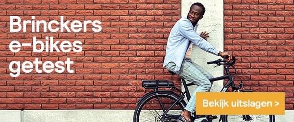 Brinckers e-bikes worden goed beoordeeld