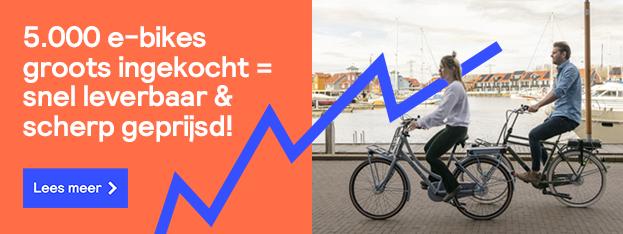 5.000 e-bikes snel leverbaar