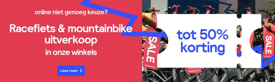 Racefiets & mountainbike uitverkoop