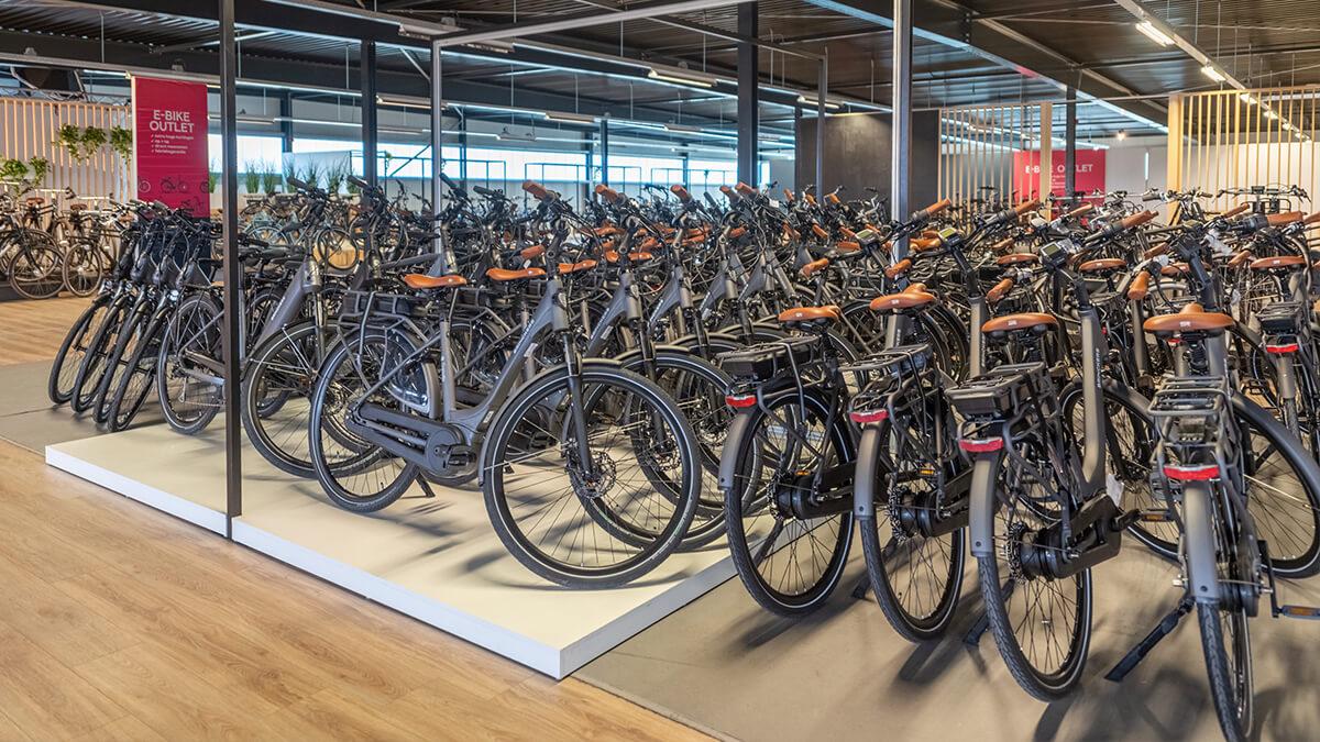 Elektrische fietsen outlet met scherpe prijzen