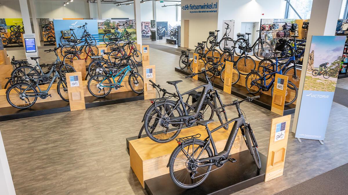 Victoria elektrische fietsen in E-bike Megastore Utrecht