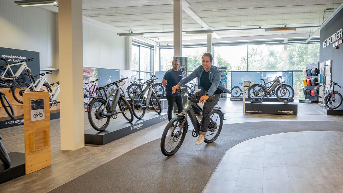 Gratis testrijden op Stromer Speed Pedelecs in E-bike Megastore Utrecht